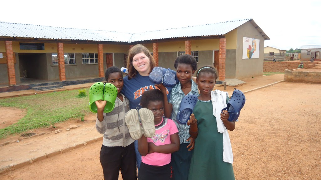 Spark Ventures   New Shoes at Hope School!